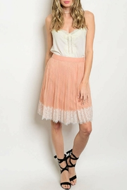 re:named Blush Ivory Skirt - Product Mini Image