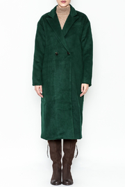 re:named Faux Suede Jacket - Front full body