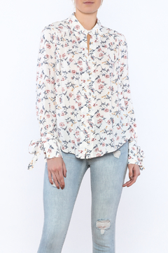 re:named Floral Summer Blouse - Product List Image