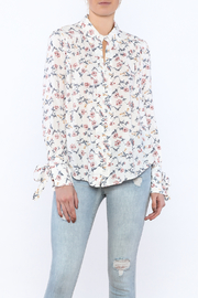 re:named Floral Summer Blouse - Product Mini Image