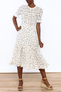 Shoptiques Product: Off White Floral Dress