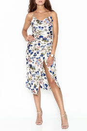 re:named Floral Wrap Dress - Product Mini Image