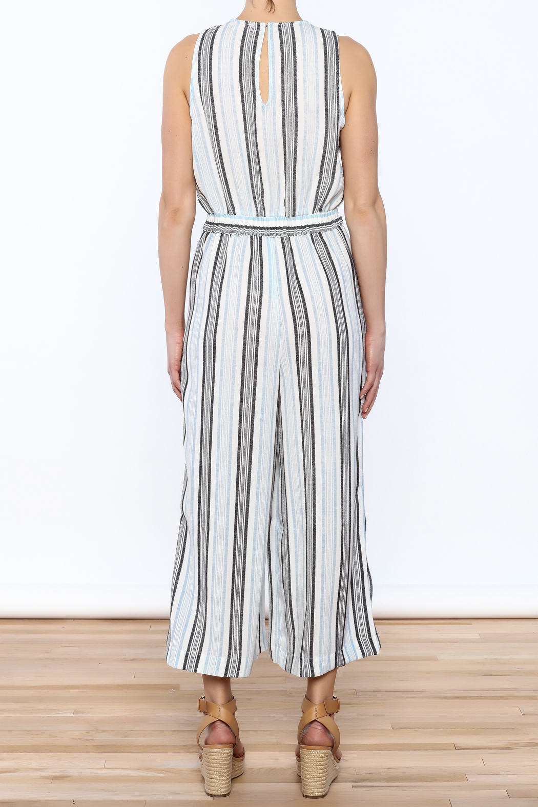 re:named Hampton's Culotte Jumpsuit - Back Cropped Image