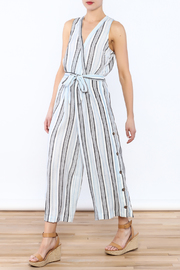 re:named Hampton's Culotte Jumpsuit - Front full body