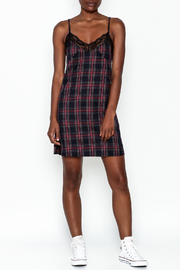 re:named Lace Trim Dress - Side cropped