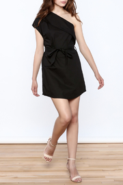 re:named Classy One Shoulder Dress - Front full body