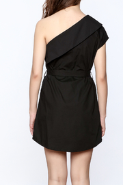 re:named Classy One Shoulder Dress - Back cropped