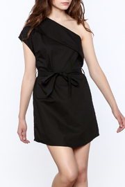 re:named Classy One Shoulder Dress - Front cropped