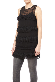 re:named Sheer Lace Top - Product Mini Image