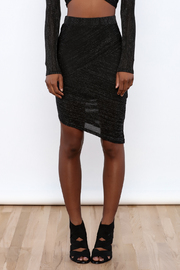 re:named Sheer Pencil Skirt - Side cropped