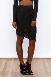 re:named Sheer Pencil Skirt - Front cropped