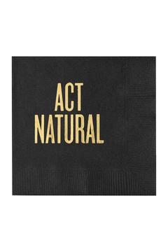 Read Between the Lines Act Natural Napkins - Alternate List Image
