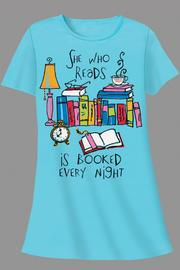 Patricia's Presents Readers Sleepshirt - Product Mini Image