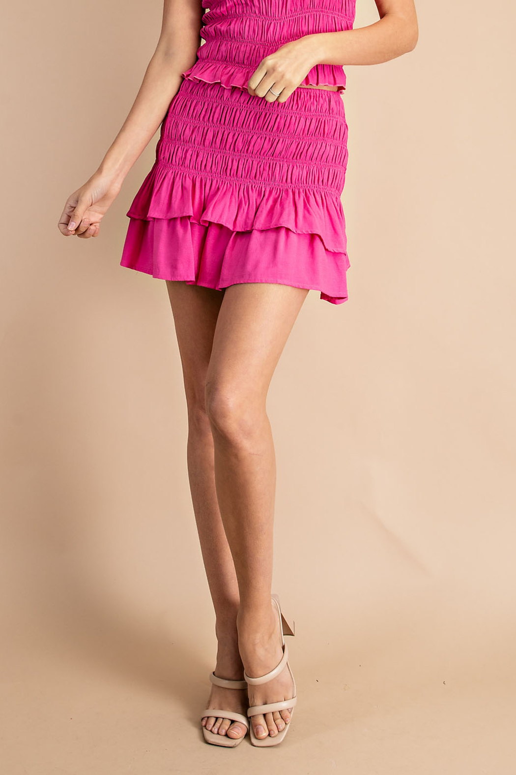 Glam Ready for the Weekend skirt - Front Cropped Image