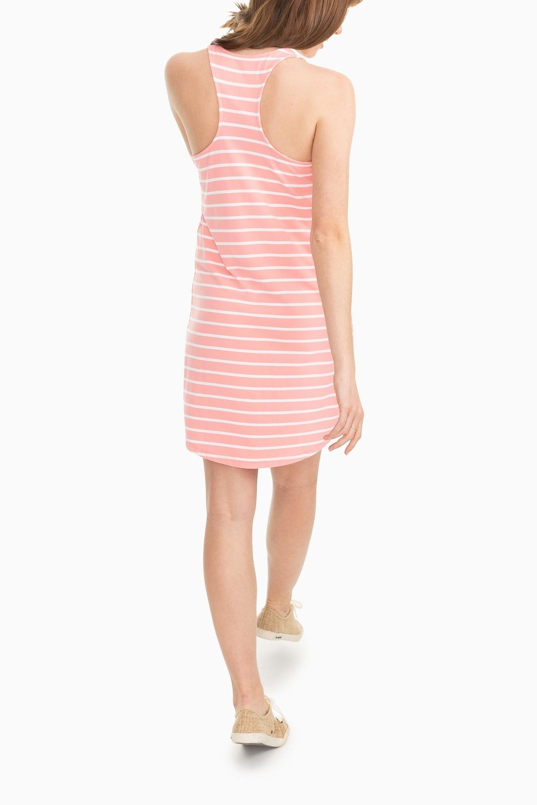 Southern Tide Reagan Performance Dress - Front Full Image