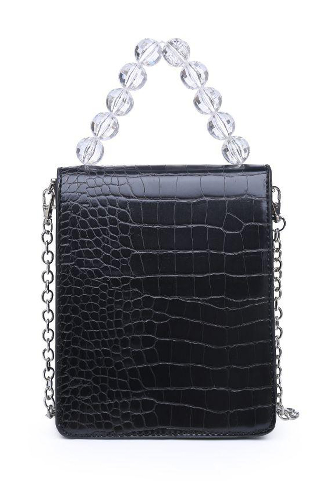Urban Expressions Reagan Vegan Leather Crossbody - Back Cropped Image