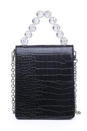 Urban Expressions Reagan Vegan Leather Crossbody - Back cropped