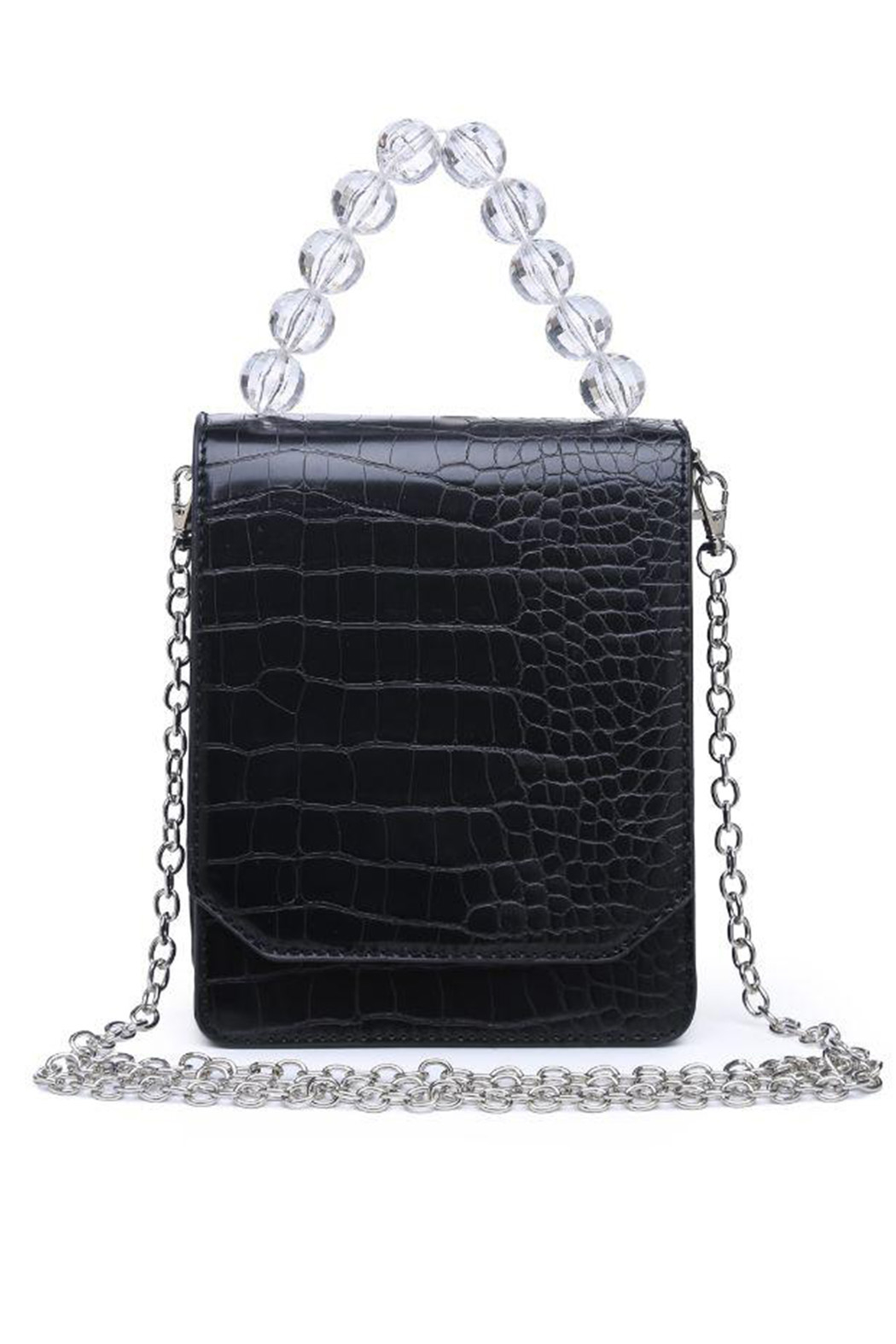 Urban Expressions Reagan Vegan Leather Crossbody - Front Cropped Image
