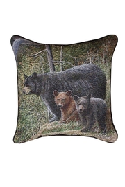 Manual Woodworkers and Weavers Real Bear Pillow - Front cropped