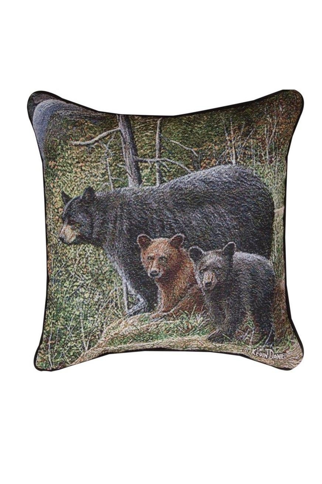 Manual Woodworkers and Weavers Real Bear Pillow - Main Image
