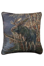 Manual Woodworkers and Weavers Real Moose Pillow - Product Mini Image