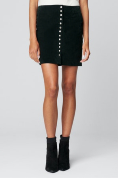 Shoptiques Product: REAL SUEDE SKIRT WITH SNAP DETAILS