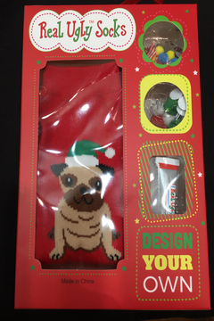 Patricia's Presents Real Ugly Dog Sock - Alternate List Image