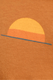 Mollusk Realize Tee in Orange Earth - Other