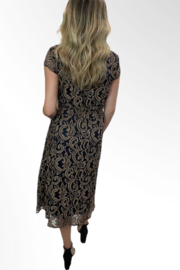 Reba Style Reba Autumn Rose Dress - Front full body