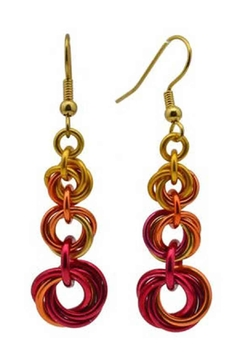 Rebeca Mojica Knotted Metal Earring - Alternate List Image
