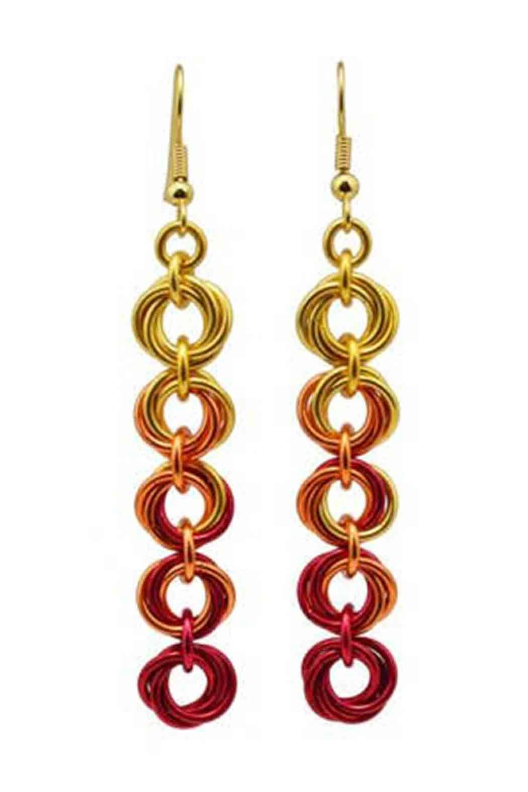 Rebeca Mojica Knotted Metal Earring - Main Image