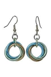 Rebeca Mojica Knotted Metal Earring - Product Mini Image