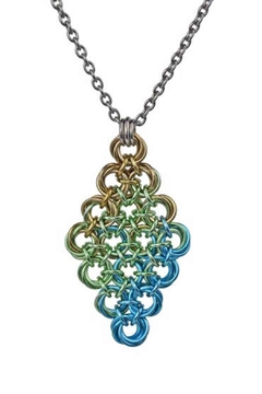 Rebeca Mojica Knotted Metal Pendant - Alternate List Image