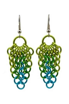 Rebeca Mojica Mesh Cluster Earring - Alternate List Image