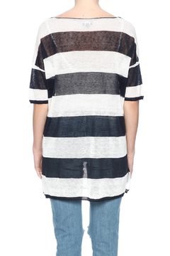 Shoptiques Product: Striped Oversized Tee