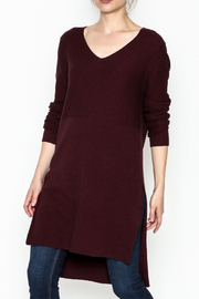 rebecca elliott Vee Knit Tunic - Product Mini Image