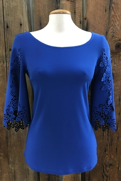 Cartise Rebecca Royal Top - Product List Image