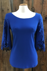 Cartise Rebecca Royal Top - Product Mini Image