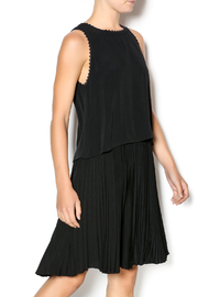 Rebecca Taylor Crepe Pleat Dress - Product Mini Image