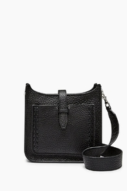 Rebecca Minkoff Black Leather Crossbody - Front cropped