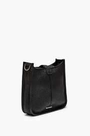 Rebecca Minkoff Black Leather Crossbody - Side cropped