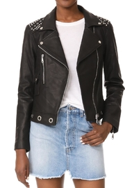 Rebecca Minkoff Bougainvillea Leather Jacket - Front cropped
