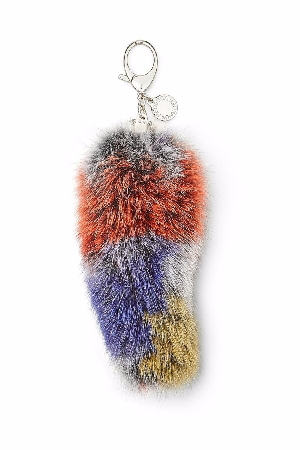 Rebecca Minkoff Fox-Tail Bag Charm - Front Cropped Image