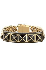 Rebecca Minkoff Gold Notification Bracelet - Product Mini Image