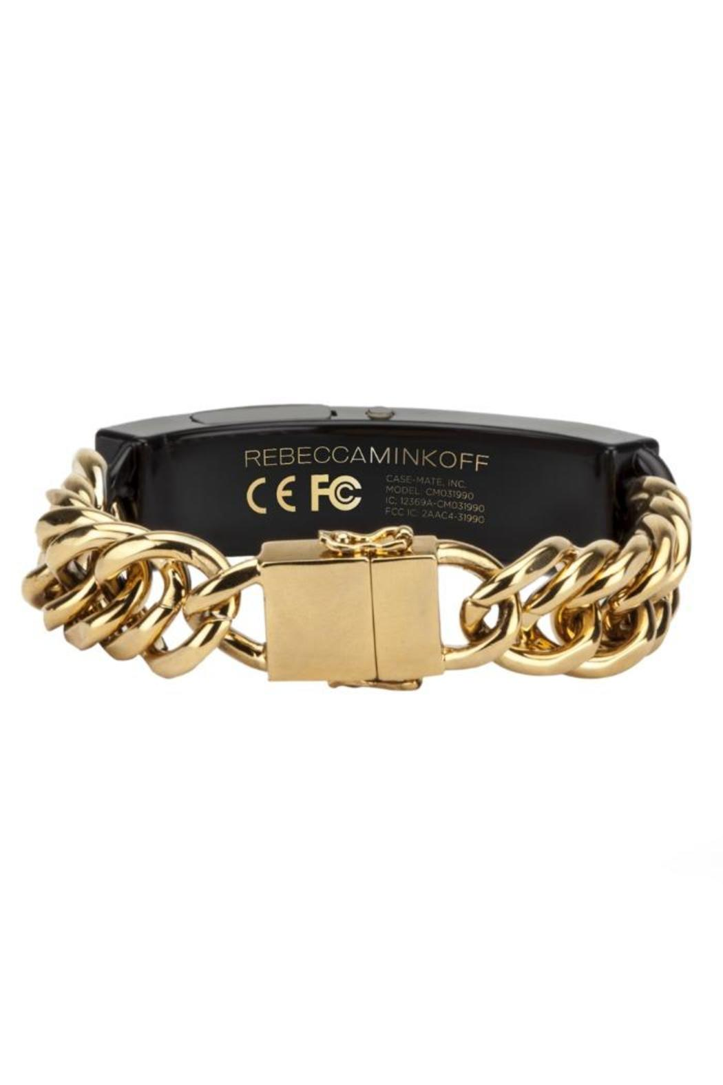 Rebecca Minkoff Gold Notification Bracelet - Front Full Image