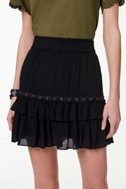 Rebecca Minkoff Grommet Ruffle Skirt - Product Mini Image
