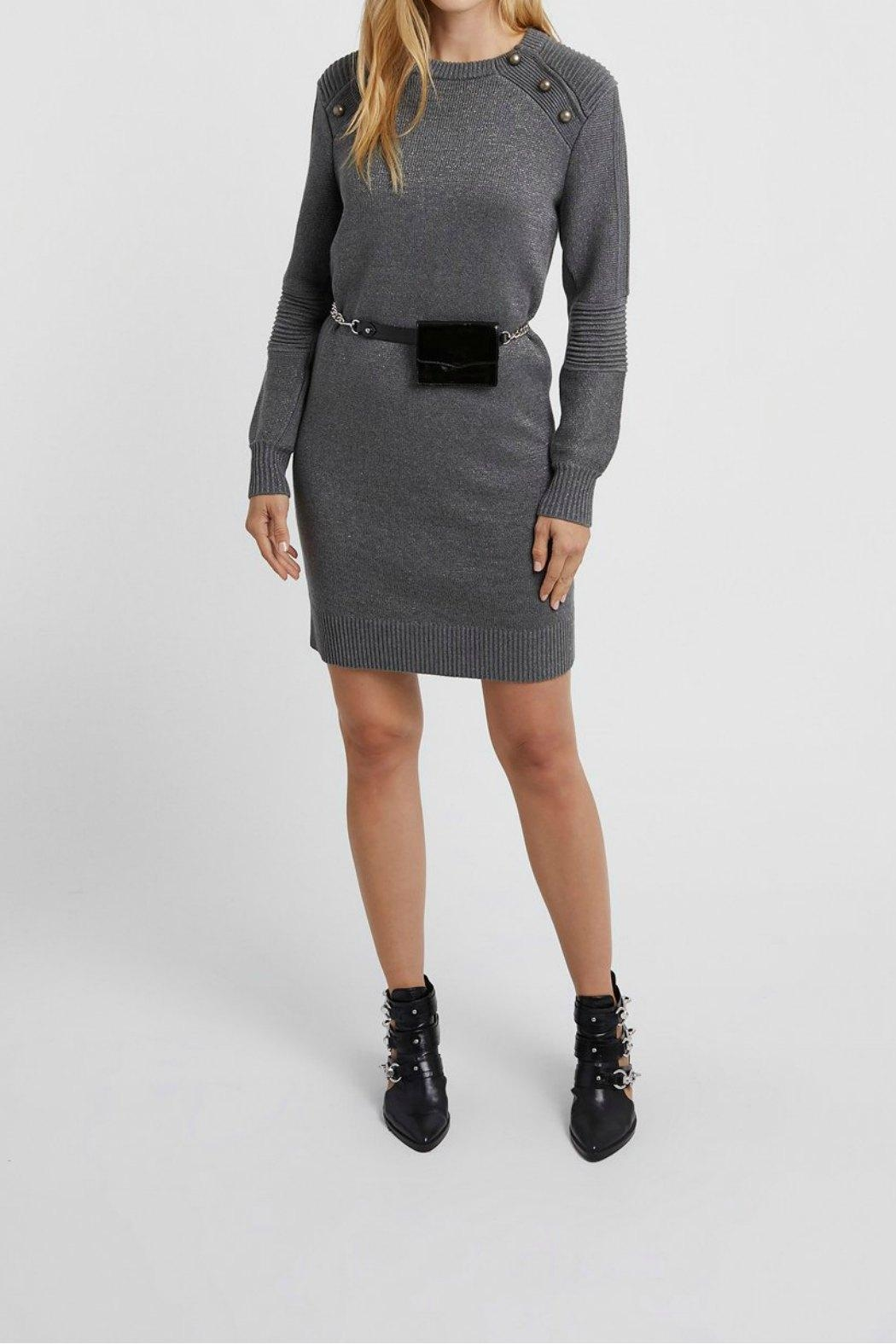 Rebecca Minkoff Janica Sweater Dress - Front Cropped Image