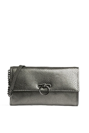 Rebecca Minkoff Jean Convertable Anthracite - Front cropped