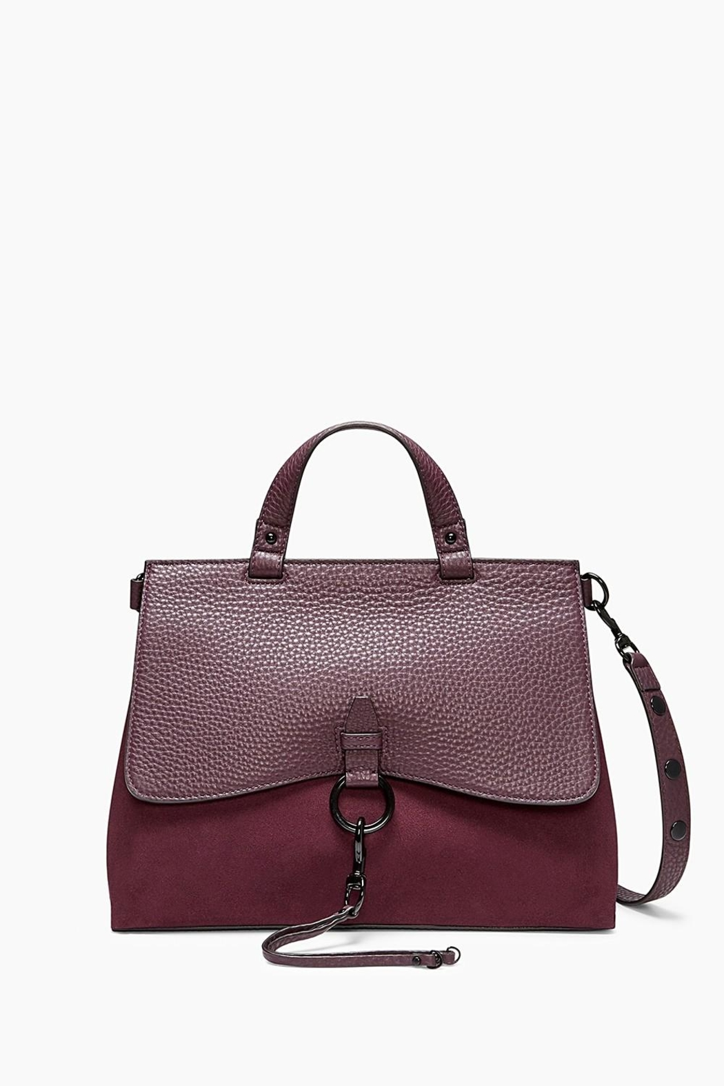 Rebecca Minkoff Keith Medium Satchel Bag - Front Cropped Image