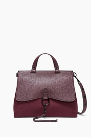 Rebecca Minkoff Keith Medium Satchel Bag - Front cropped